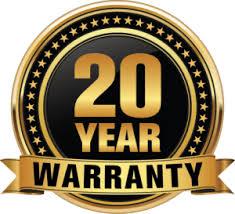 20 year warranty - Premier Polysteel