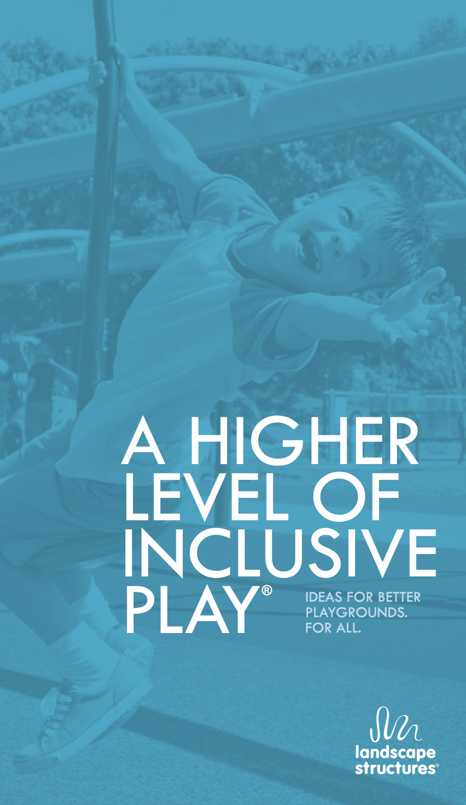A higher level of inclusive play