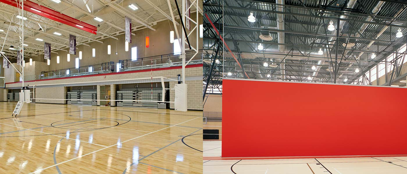 porter-athletic-gymnasium-divider - Porter Athletic Equipment Gymnasium equipment