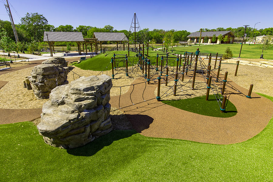 Playground equipment and installation in Kansas