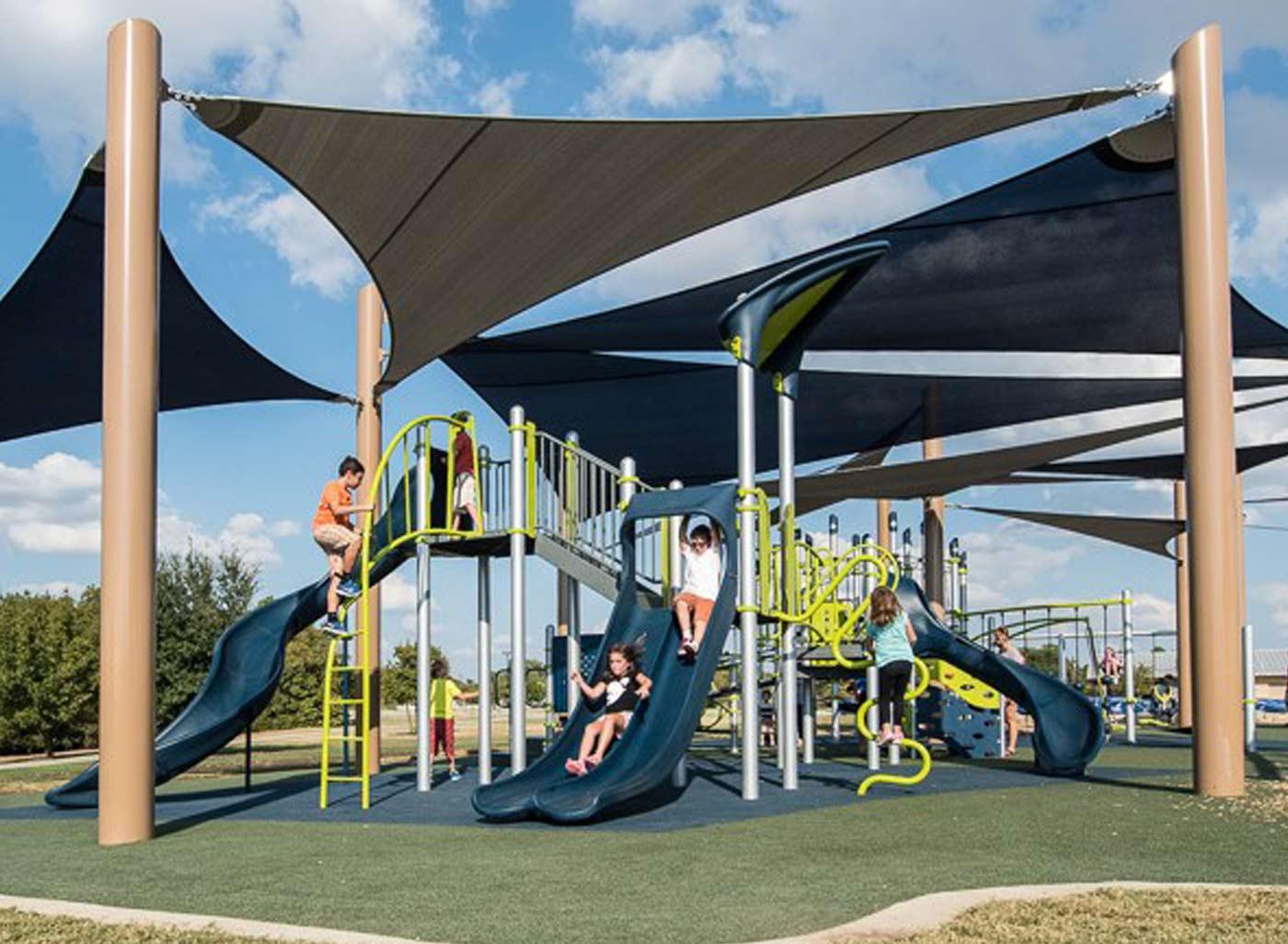 SkyWays playground shade