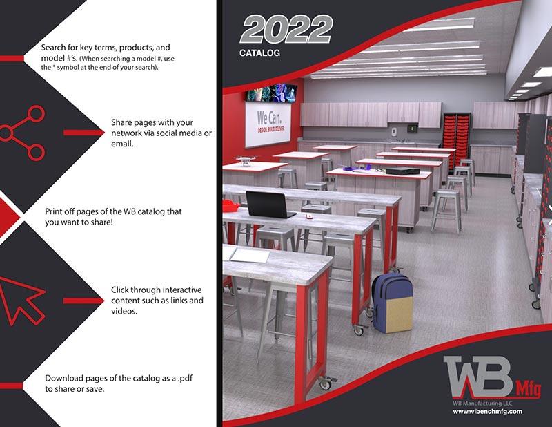 WB Manufacturing 2022 Catalog