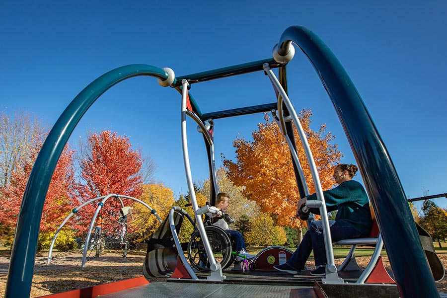 We Go Swing playground